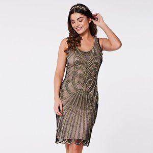 Gatsby Lady London Francessa Flapper Beaded Dress